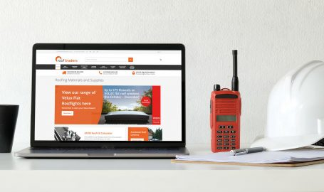 A Magento ecommerce website we delivered for the company Roof Traders.